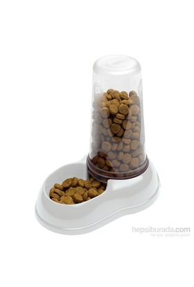 Ferplast Azimut 1500 Sağlıklı Kedi Köpek Hazneli Su/Mama Kabı