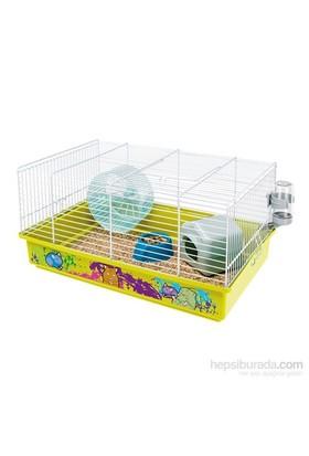 Ferplast Cricet 9 Beyaz Dekor Hamster Kafesi