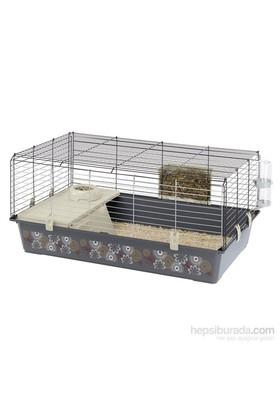 Ferplast Rabbit-100 Dekorlu Tavşan Kafesi