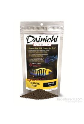 Dainichi Veggie Pro Small 250 gr. 2 mm. otçul doğal renlendirici çiklit yemi