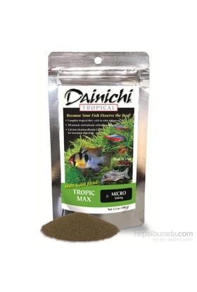 Dainichi Tropic Max Micro 100 gr. mikro ölçüde tatlısu akvaryum balıkları yemi