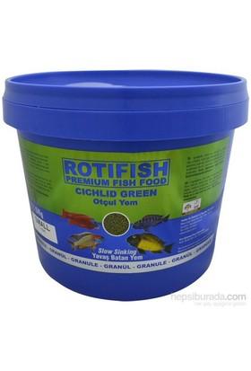 Rotifish Cichlid Green Small (1 Mm) 3000Gr. (Otçul Ciklit Balıklarınız İçin)