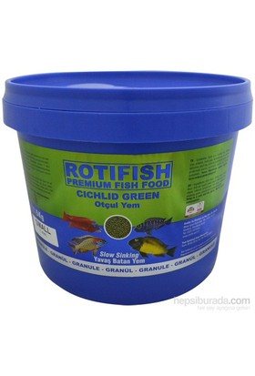 Rotifish Cichlid Green Small (Yavaş Batan) (1 Mm) 5000Gr.