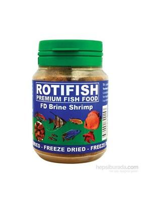 Rotifish Fd Brine Shrimp 100Ml (10Gr.) Kurutulmuş Artemia Küp Formunda