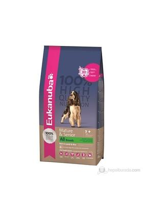 Eukanuba Mature & Senior All Breeds Lamb & Rice 2,5 Kg Köpek Maması