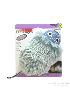 Petstages Nighttime Cuddle Toy Kedi Otlu, Fosforlu, Catnipli, Büyük Boy Sarılmaya Uygun Kedi Oyuncağı)