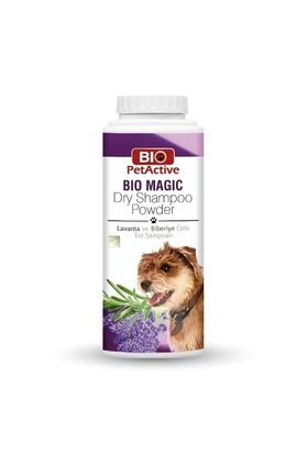 Biopetactive Toz Şampuan Bıomagıc Dry Shampoo Powder- (Köpekler İçin Lavanta Ve Biberiye Özlü Toz Şa