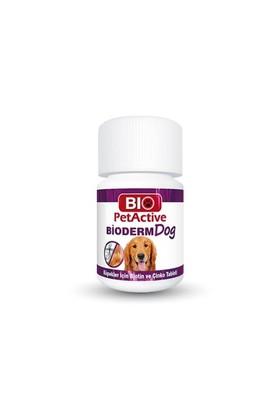 Biopetactive Çiğneme Tableti Bıodermdog (Biotin Ve Çinko Tableti) 37,5Gr