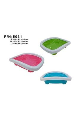 Quipeng Kedi Ringli Açık Tuvalet Kabı 40,5X33,2X11