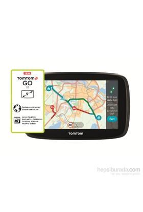 """Tomtom GO 51 5"""" Ekranlı Trafikli ve Dünya Haritalı Navigasyon Cihazı (Ömür Boyu Ücretsiz Güncelleme"""