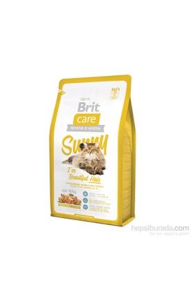 Brit Uzun Tüylü Ve Tüy Bakımına İhtiyaç Duyan Kediler İçin Somonlu Pirinçli Kedi Maması - 2Kg (I´ve Beautiful Hair)
