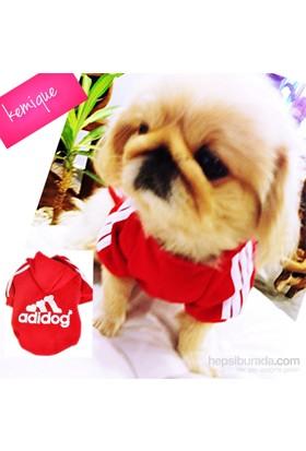 Kemique Adidog Sweatshirt Kırmızı