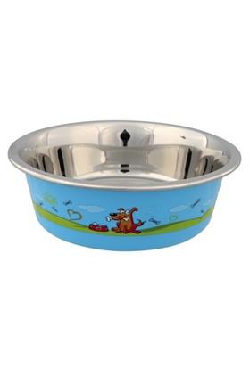 Trixie Köpek Mama Ve Su Kabı, Paslanmaz,0,9Lt/17Cm