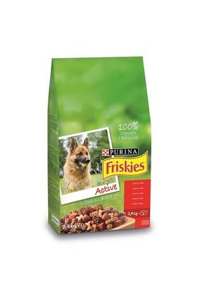 Friskies Etli Köpek Maması (Aktif Köpekler İçin) 2,4 Kg