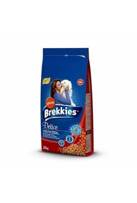 Brekkies Delice Meat Tavuklu Bıldırcınlı Mama 20 Kg