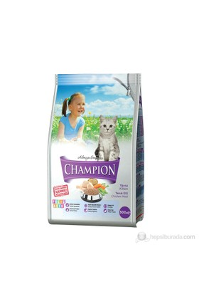 Champion Folik Asit Katkılı Tavuk Etli Yavru Kedi Maması 300 Gr