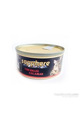 Sapphere Ton Balıklı Ve Kalamarlı Kedi Konserve Maması 80 Gr