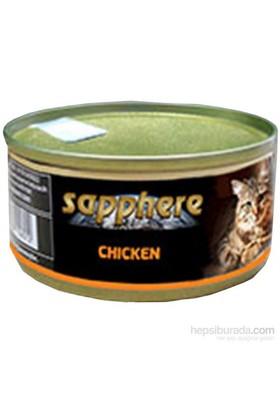 Sapphere Tavukluı Kedi Konserve Maması 80 Gr