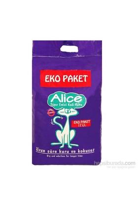 Alice Süper Emici Kedi Kumu Ekopaket 17 Lt