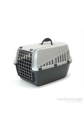 Savic Trotter 1 Kedi Köpek Taşıma Kabı Açık Gri/Koyu Gri kk