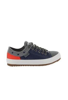Docker'S By Gerli 218656 Gri Lacivert 288129 Kadın Günlük Ayakkabı