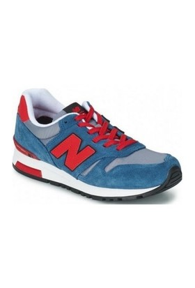 New Balance Ml565srs Mavi / Kırmızı Erkek Yürüyüş Ayakkabısı