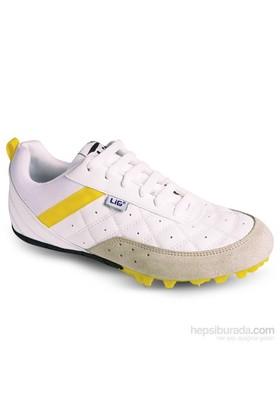 Lig Monaco Çivili Atletizm Ayakkabısı Beyaz
