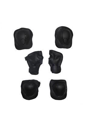 Xbyc 962 Bsklt Dirseklik Dizlik Bileklik 6'Lü Set Siyah