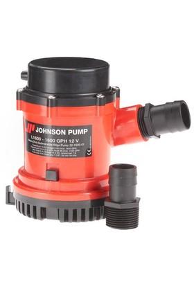 Johnson Pump L 1600 12V 1600 GPH 100 L/dk Sintine Pompası