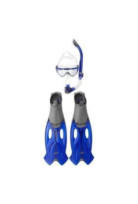 Speedo 8-016595052 Glide Şnorkel-Maske Seti