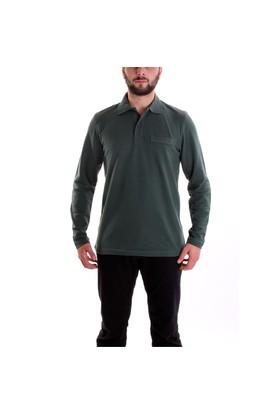 Sportive Erkek Polo Yaka Uzun Kollu T-Shirt