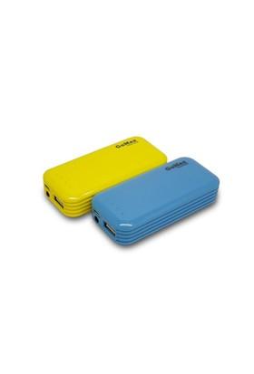 Gomax Powerbank 5600 Mah Taşınabilir Şarj Cihazı Mavi