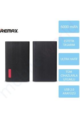 Mobile World Remax 6000 mAh Jazz Platinum Taşınabilir Şarj Cihazı Siyah - 2119