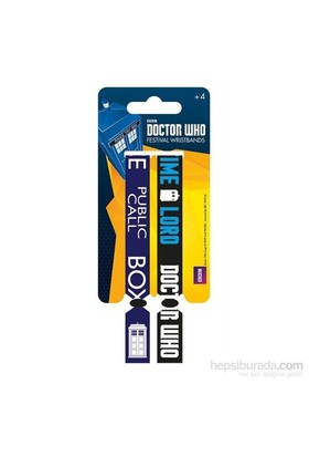 Festival Bilekliği - Doctor Who Call Box Fwr68005