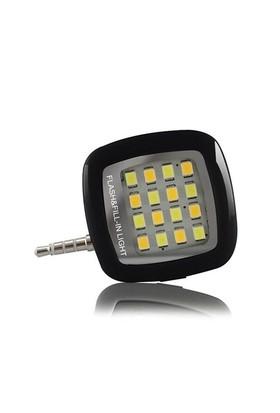 Zen-Tech Akıllı Telefon Kamera Aydınlatıcı Led Işık-Siyah