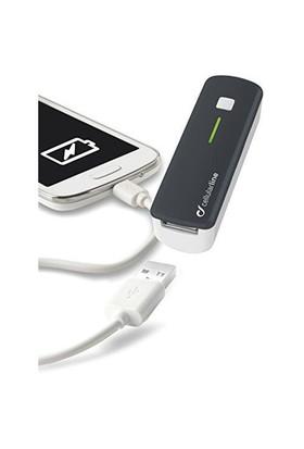 Cellular Line Usb Pocket Charger 2200Mah Harici Şarj Cihazı - Siyah