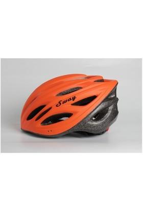 Xbyc N7 Bisiklet Kaskı Turuncu