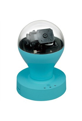 Ozaki O!Care iPhone, iPad ve iPod touch için IP Kamera (Mavi)
