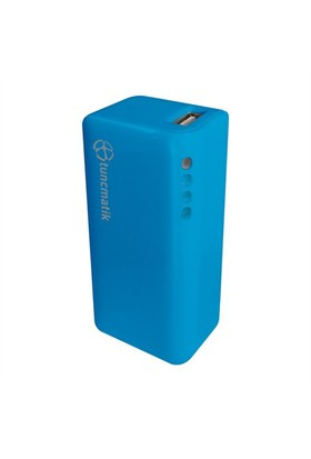 Tunçmatik Mini Charge 2000 mAh Mavi Taşınabilir Şarj Cihazı - TSK5062