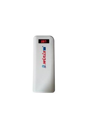 Winixco 13200 mAh Powerbank + Araç Çakmağı ve Sabit Şarj Cihazı