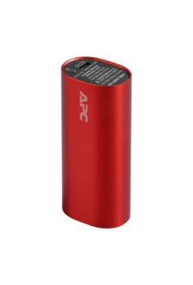 Schneider Electric APC 3000 mAh Li-iyon Taşınabilir Şarj Cihazı - Kırmızı - M3RD-EC