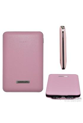 Codegen Powerx 5000 mAh Çift USB Çıkışlı Pembe Taşınabilir Şarj Cihazı IF-50P