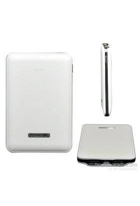 Codegen Powerx 5000 mAh Çift USB Çıkışlı Beyaz Taşınabilir Şarj Cihazı -IF-50W