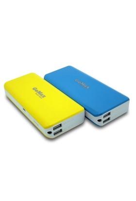 Gomax 12000 Mah Powerbank Taşınabilir Şarj Cihazı Sarı