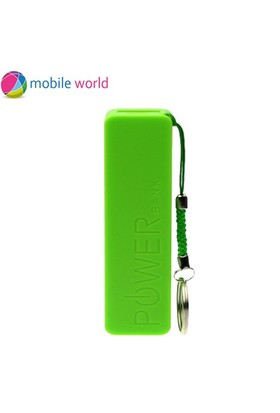 Mobile World 2600 mAh Taşınabili Şarj Cihazı Yeşil - IM11754