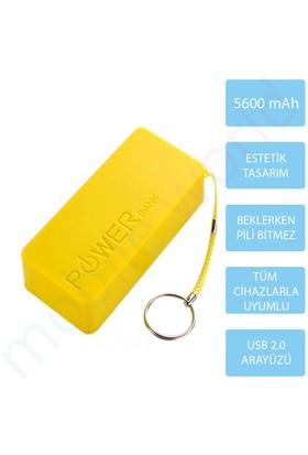 Mobile World Ora Series 5600 mAh Taşınabilir Şarj Cihazı Sarı - 2125