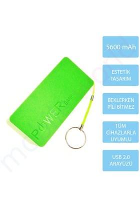 Mobile World Ora Series 5600 mAh Taşınabilir Şarj Cihazı Yeşil - 2126