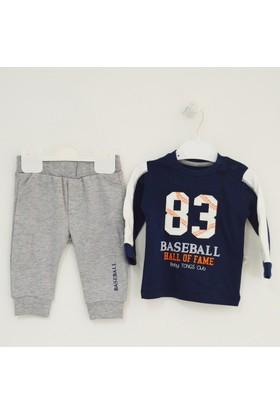 Tongs Baby 1853 Baseball 2'li Erkek Bebek Takımı