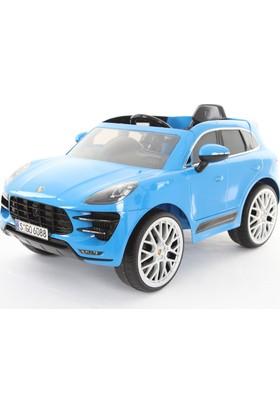 RollPlay W416QHG4 Porsche Macan Akülü Araba - Mavi