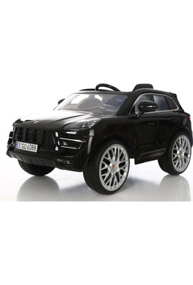 RollPlay W416QHG4 Porsche Macan Akülü Araba - Siyah